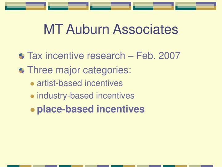 MT Auburn Associates