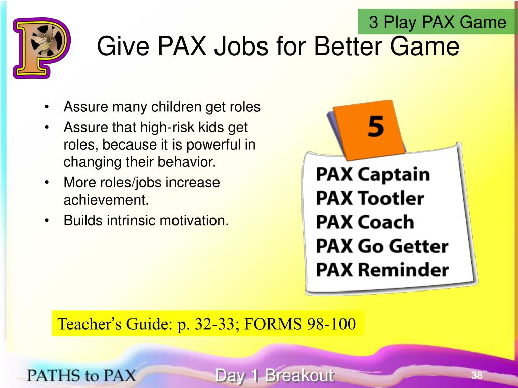 3 Play PAX Game