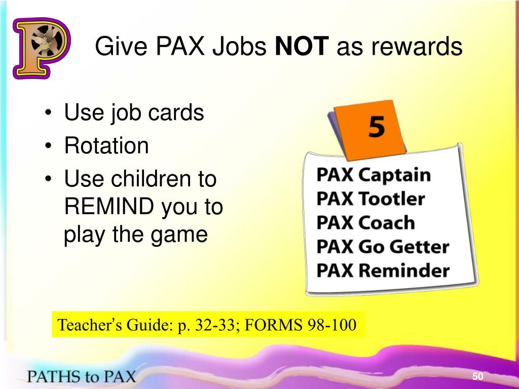 Give PAX Jobs