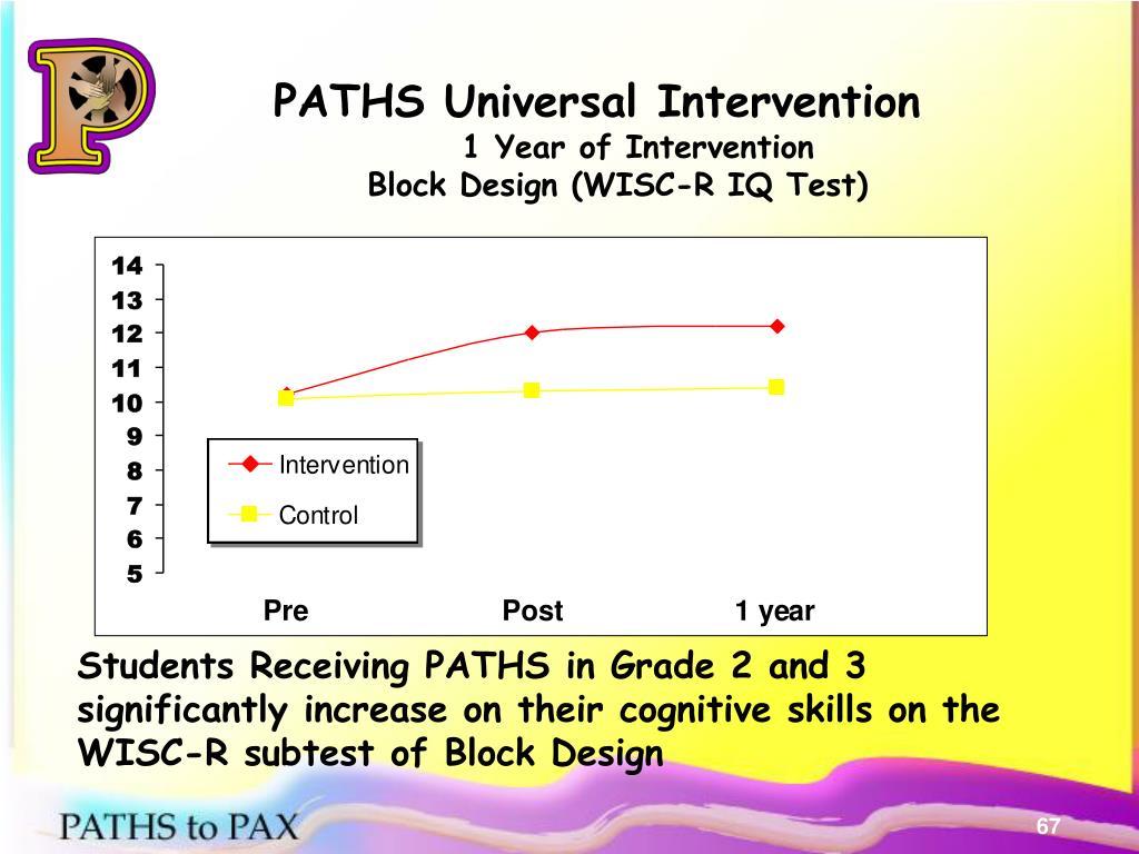PATHS Universal Intervention
