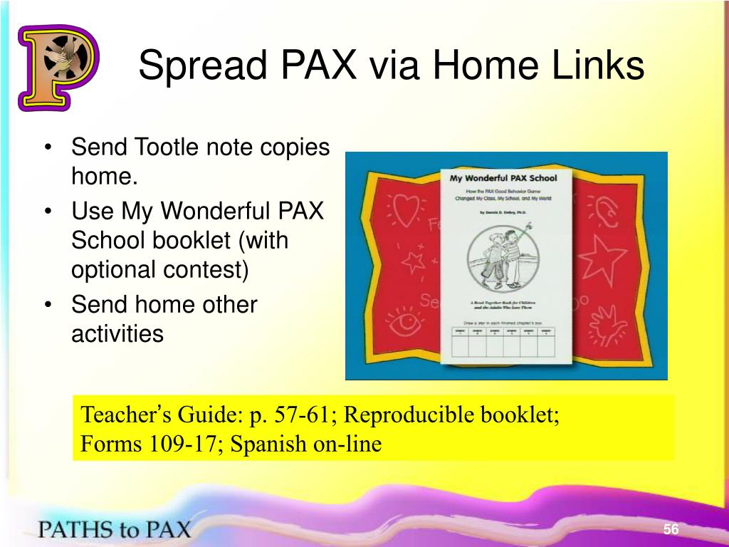 Spread PAX via Home Links