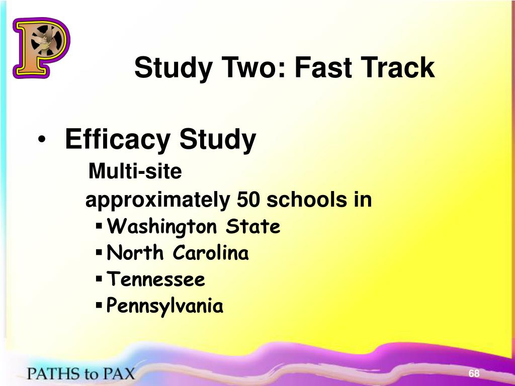Study Two: Fast Track