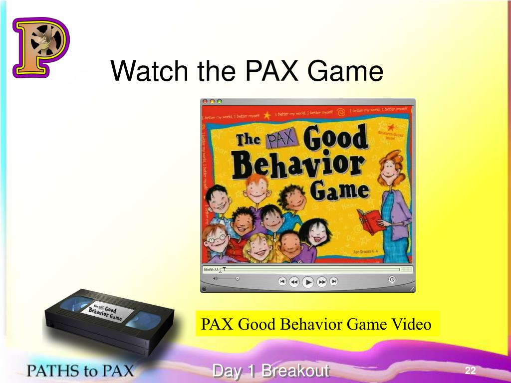 Watch the PAX Game