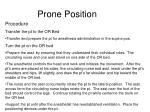 prone position8