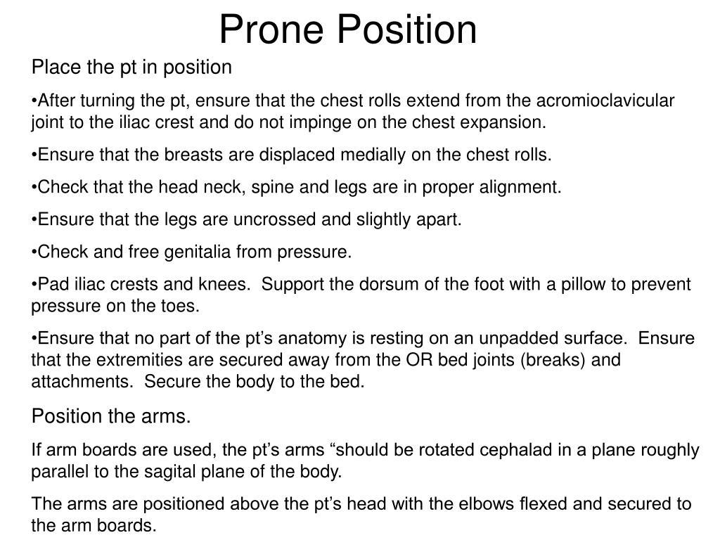 Prone Position