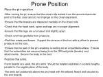 prone position9