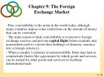 chapter 9 the foreign exchange market30