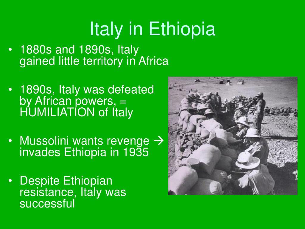 Italy in Ethiopia