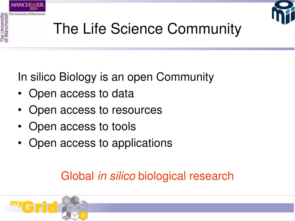 The Life Science Community