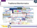 traditional bioinformatics