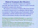dialysis treatment after disasters6