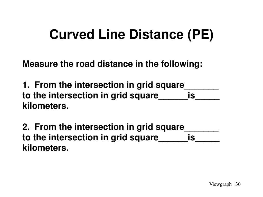 Curved Line Distance (PE)