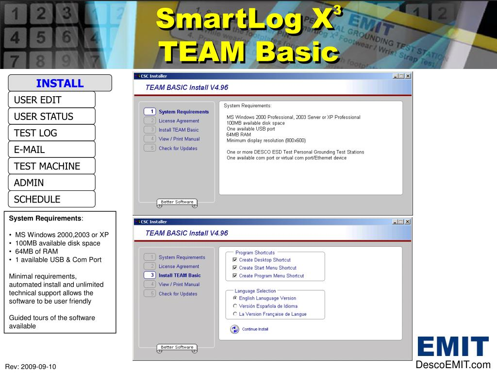 SmartLog X