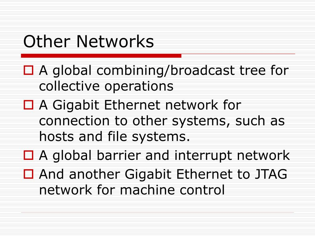 Other Networks
