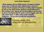 living with the impact of windmills10