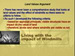 living with the impact of windmills11