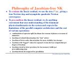 philosophy of jacobian free nk