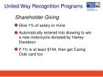 united way recognition programs22