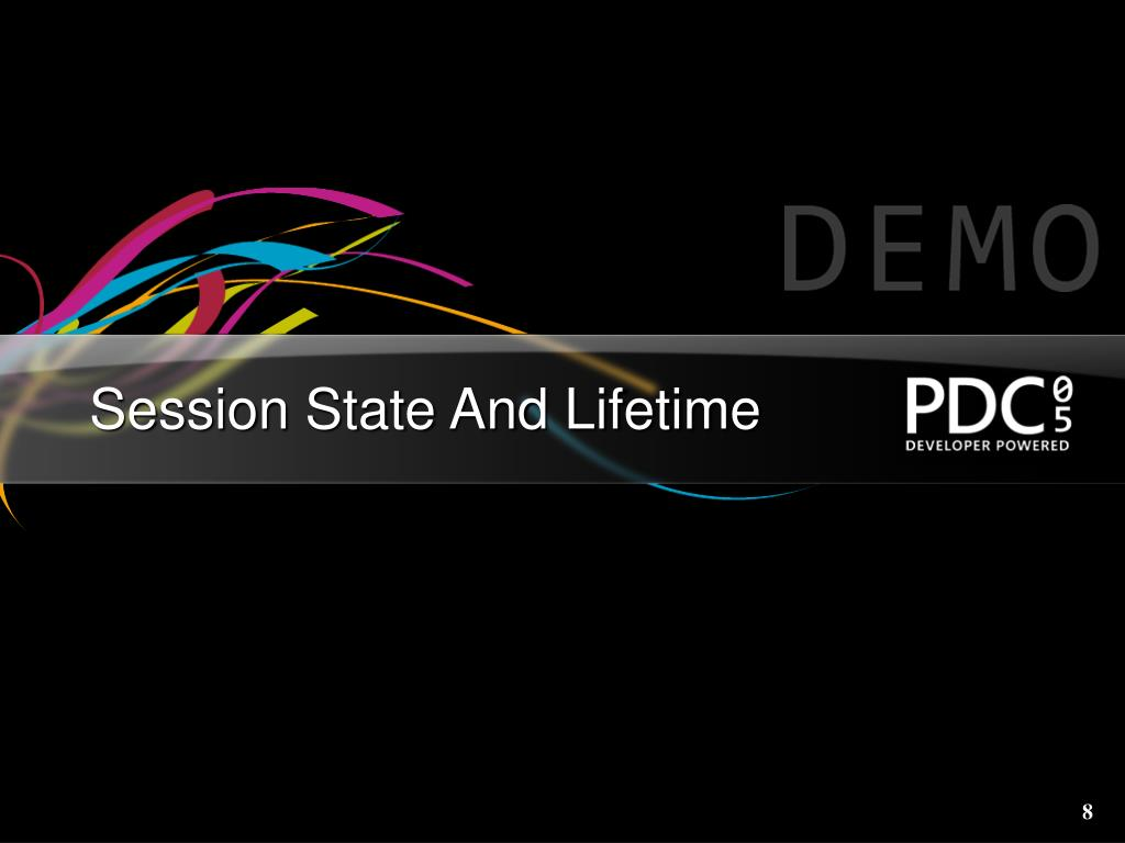 Session State And Lifetime