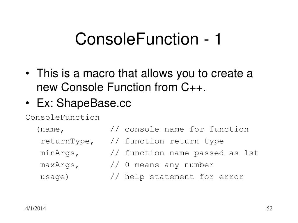 ConsoleFunction - 1