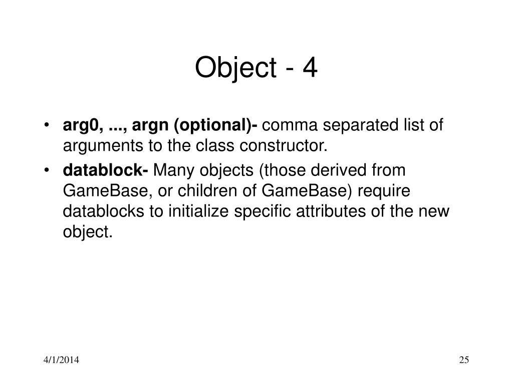 Object - 4
