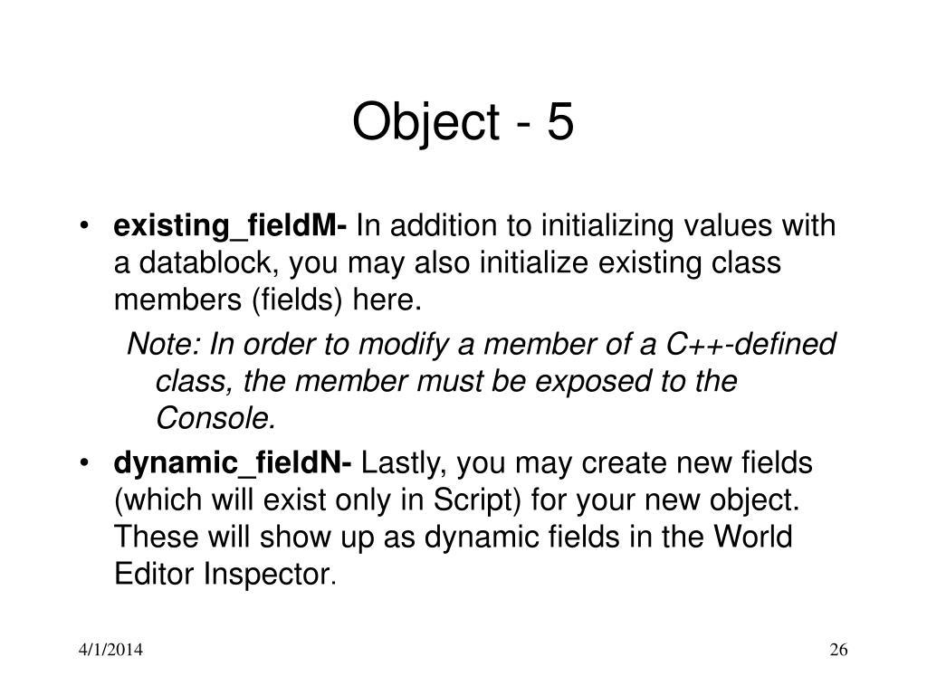 Object - 5