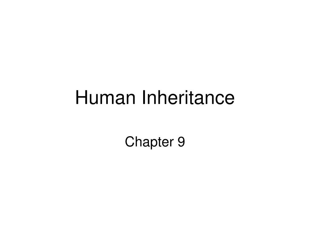 human inheritance