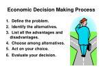 economic decision making process