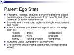 parent ego state