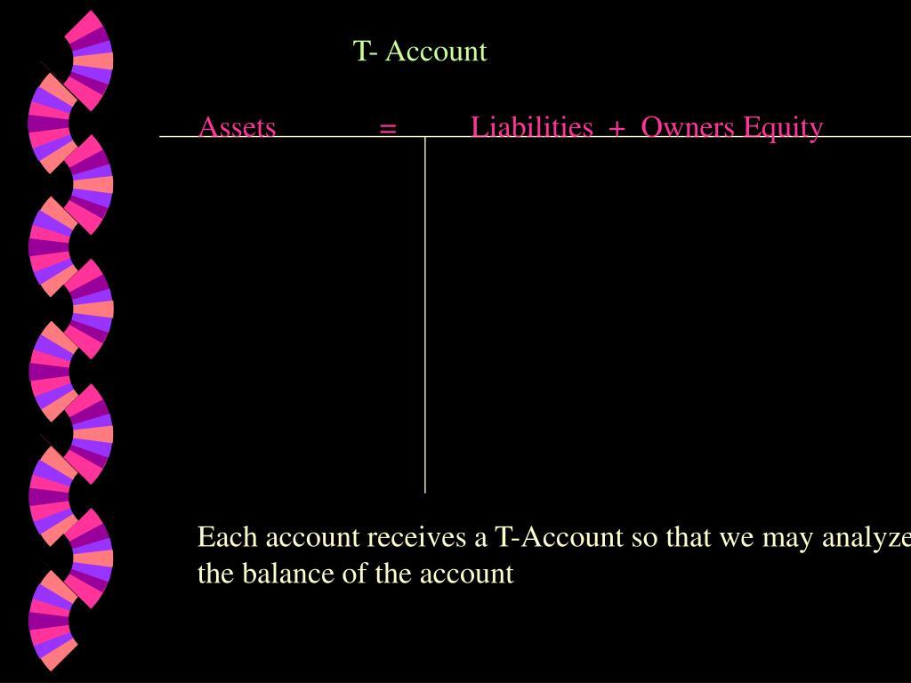 T- Account