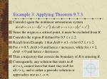 example 3 applying theorem 9 7 3