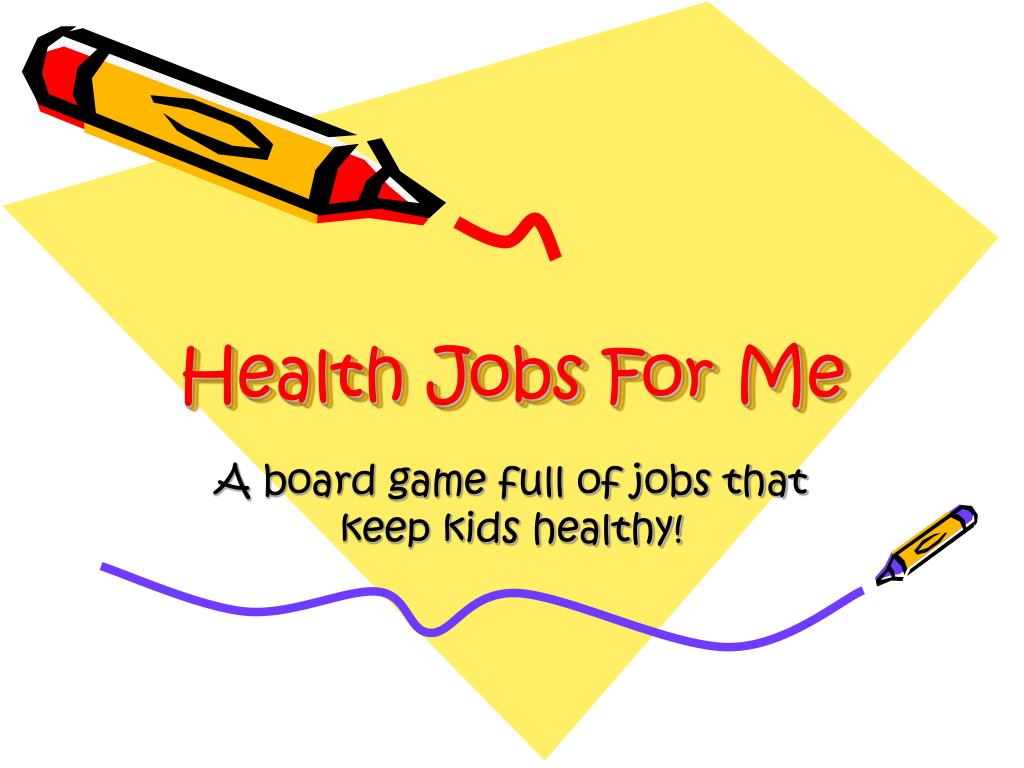 health jobs for me