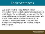topic sentences4