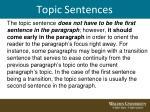 topic sentences5