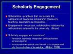 scholarly engagement23