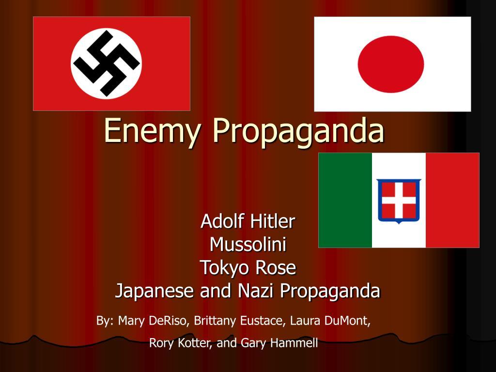 enemy propaganda