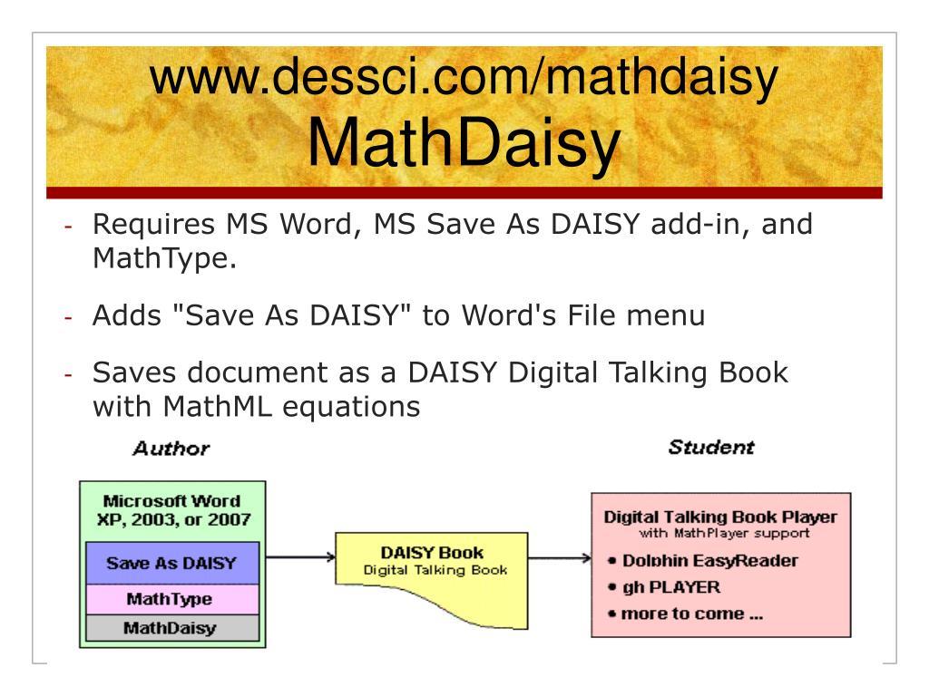 www.dessci.com/mathdaisy