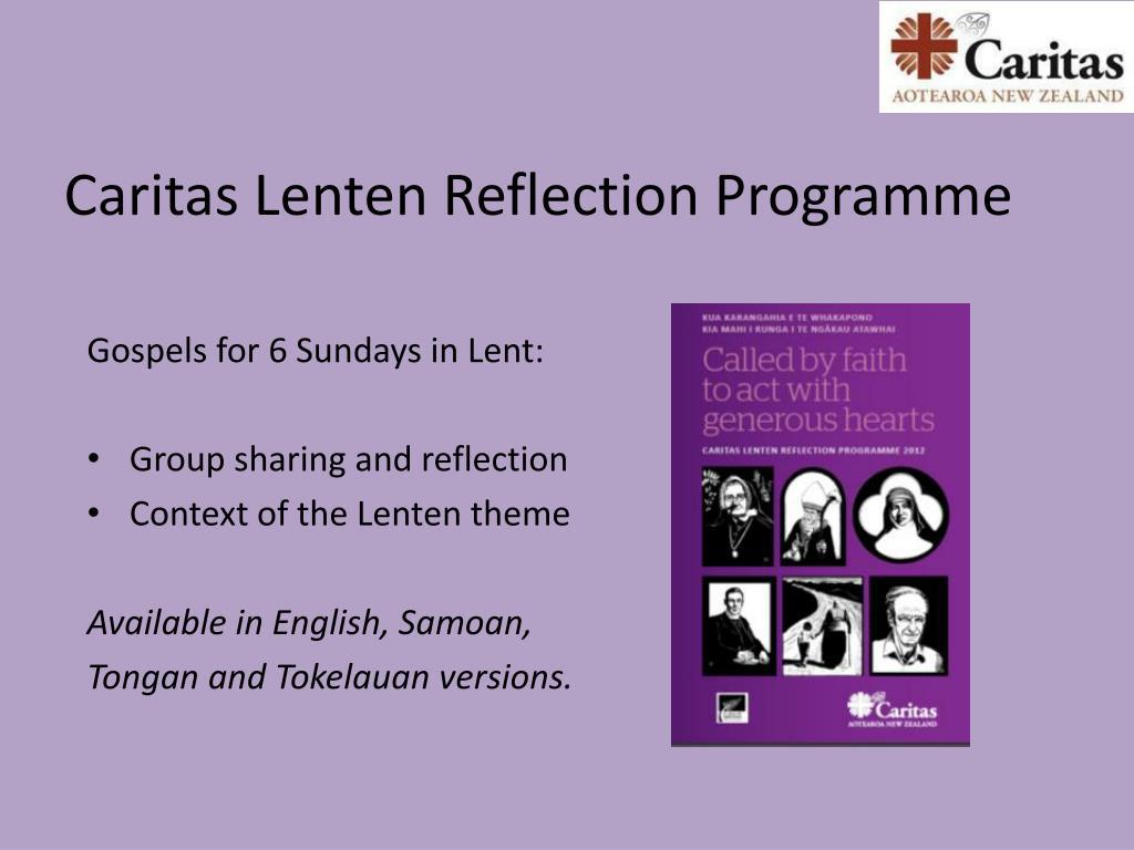 Caritas Lenten