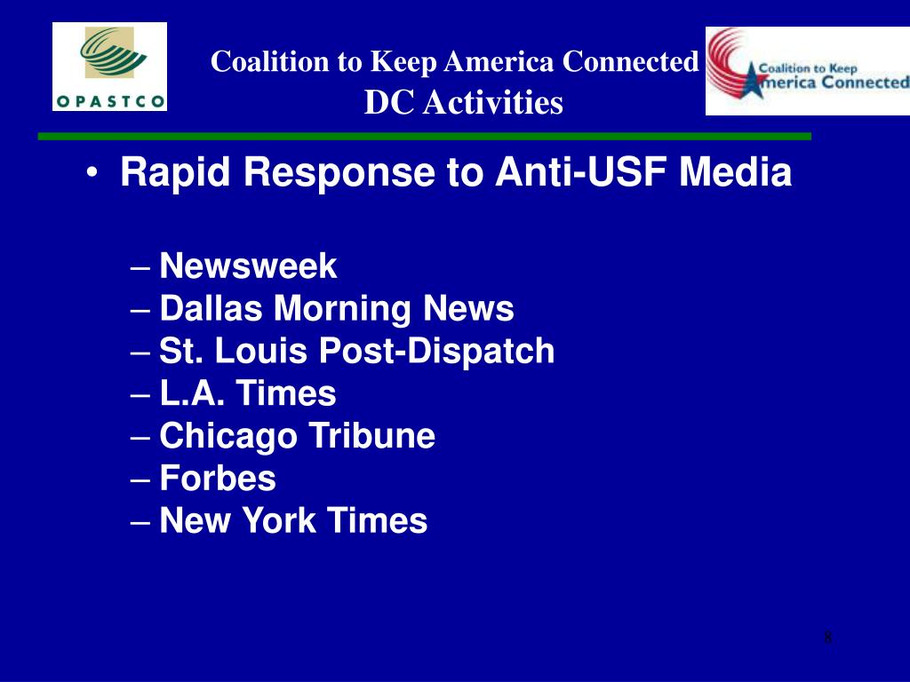 Rapid Response to Anti-USF Media