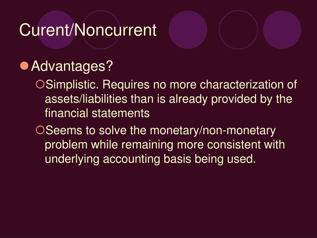 Accounting For Noncurrent Marketable Equity Securities