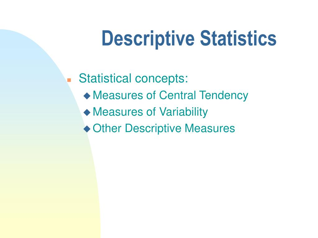 descriptive statistic article critique Revealed the top 10 statistics used in the journal articles reviewed: mean   majority were used for descriptive analysis based on their study.