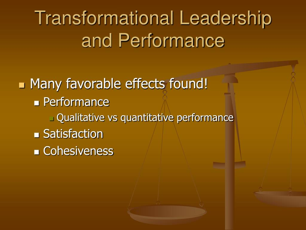 four factors of leadership transformational leader Ryan white was more of a transactional leader than a transformational leader a from busi 2000 at  transformational leadership must all four factors be present for.