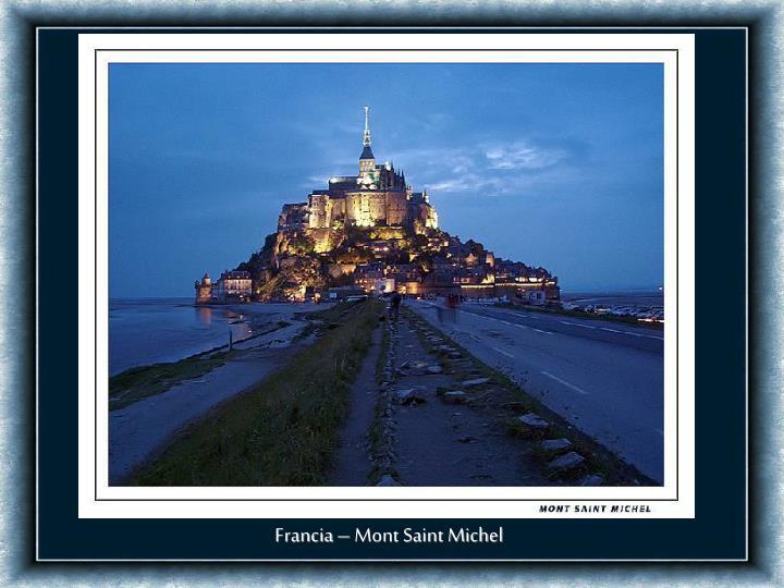 Francia – Mont Saint Michel