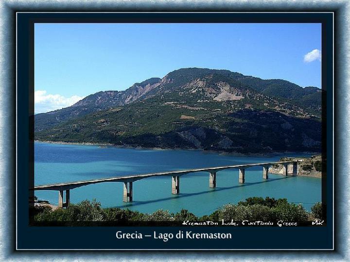 Grecia – Lago di Kremaston