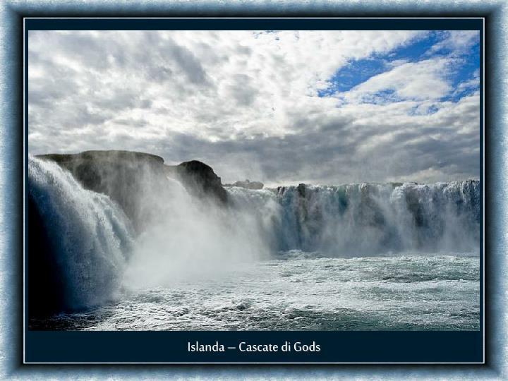Islanda – Cascate di Gods