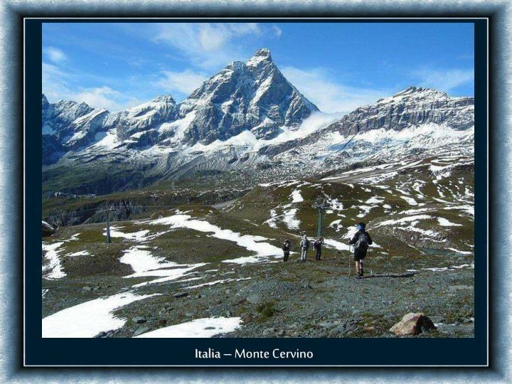 Italia – Monte Cervino
