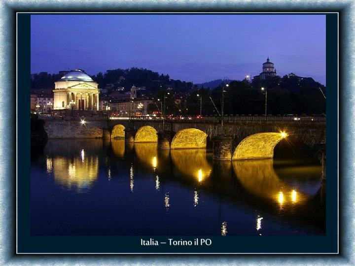 Italia – Torino il PO