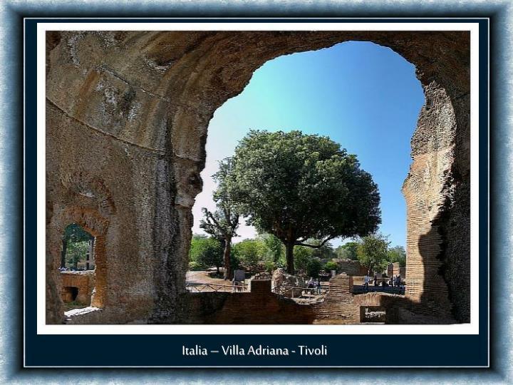 Italia – Villa Adriana - Tivoli