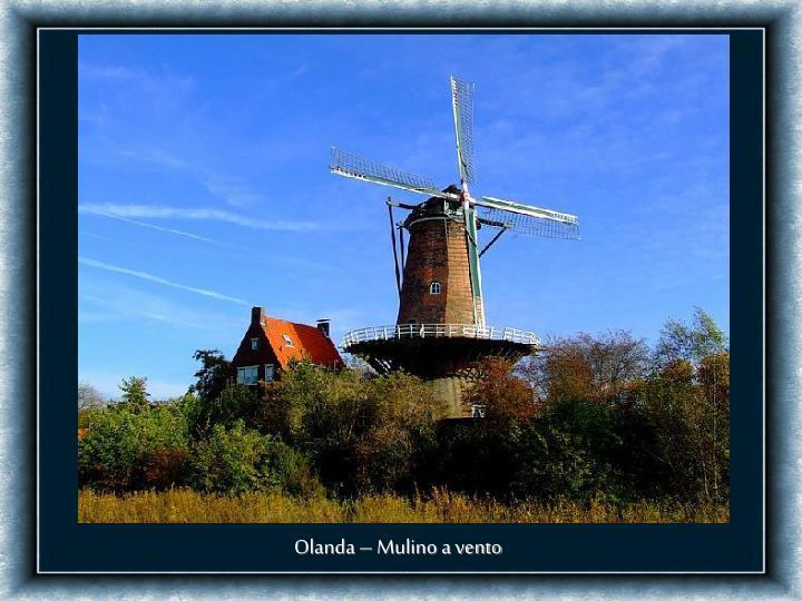 Olanda – Mulino a vento