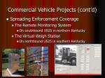 commercial vehicle projects cont d12